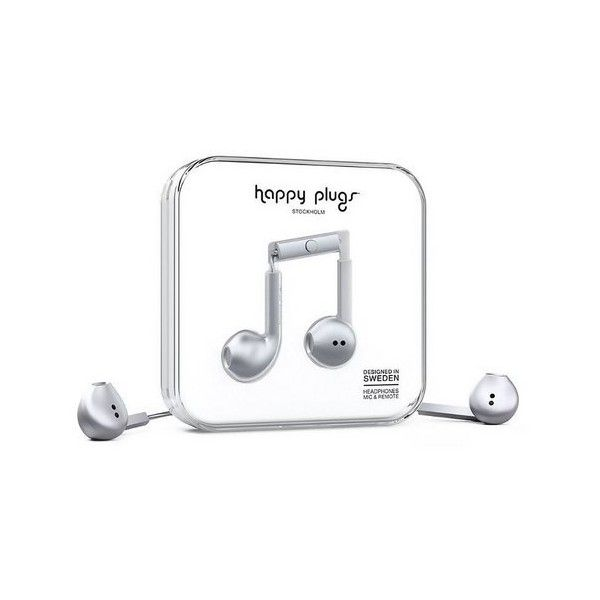 Happy Plugs Earbud Plus ($42) ❤ liked on Polyvore featuring accessories, tech accessories, phone accessories, space, womens-fashion, headphones earbuds, happy plugs headphones, earbud headphones, ear bud headphone and happy plugs earbuds