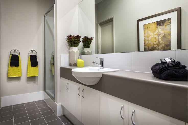 Homebuyers Centre - Flute (Clarkson) Display Home Bathroom