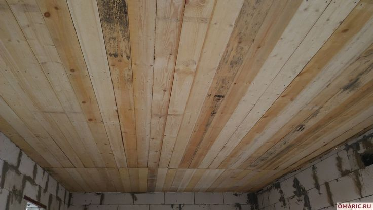 Как сделать деревянный черновой потолок в доме | OMARIC.RU