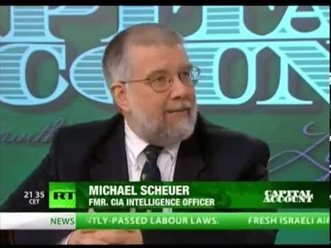 CIA Dr Michael Scheuer: Israel (RATistan) is pushing America to go to Wa...