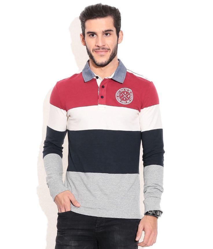 Celio Multicolor Cotton T-shirt