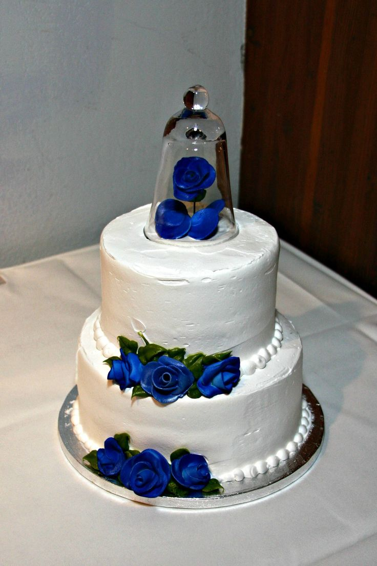 royal blue and hot pink wedding cakes our wedding cake simple two tier raspberry swirl 19350