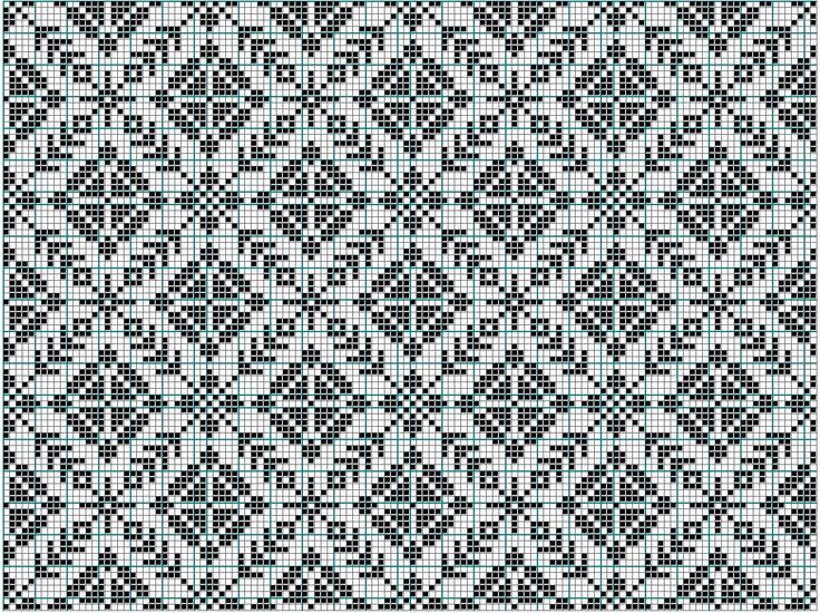 Would make a nice pattern of knits and purls for a blanket