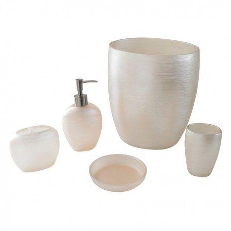 Accessoires de salle de bain collection Pirouette - Couleurs unies - Accessoires de salle de bain - Bain