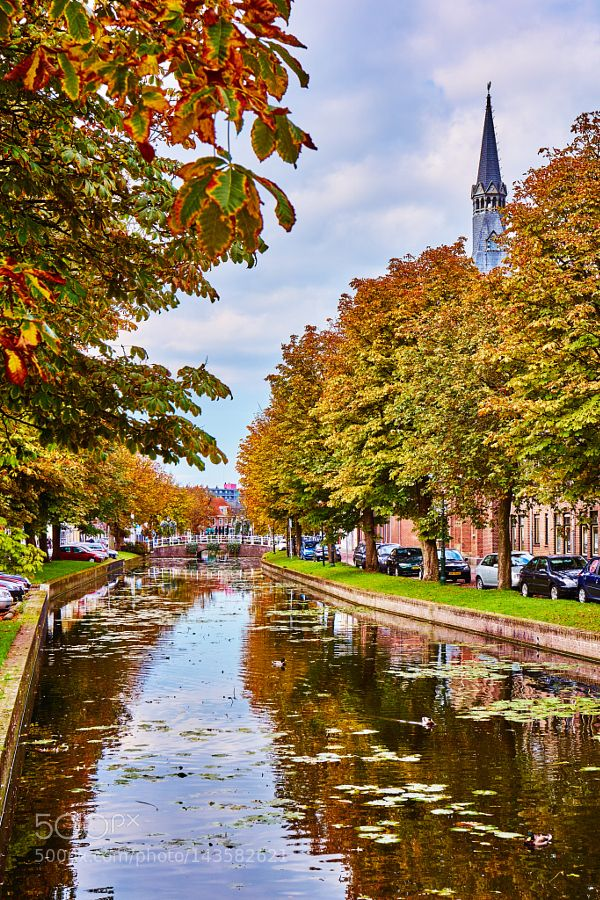 Canals - Weesp by vlad_dmitriev. Please Like http://fb.me/go4photos and Follow @go4fotos Thank You. :-)