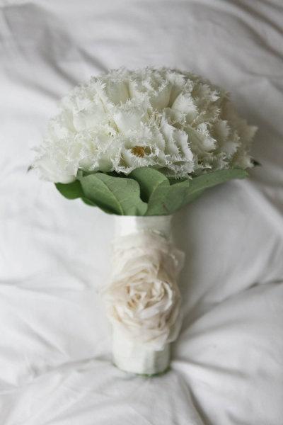 Tulpen mogen natuurlijk niet ontbreken op een echt Hollandse bruiloft!