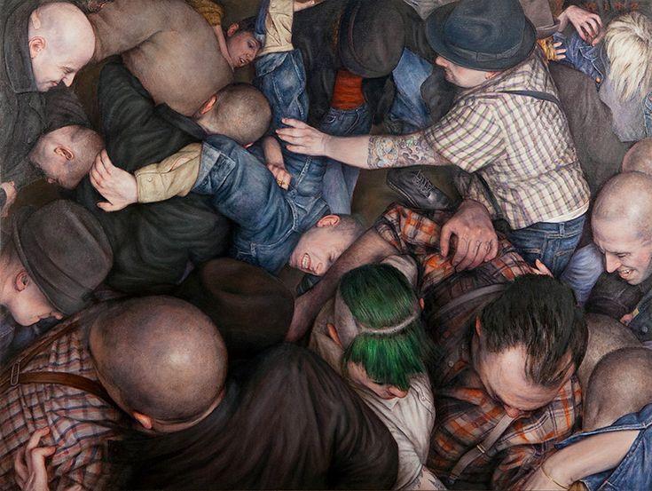 Dan Witz - N.Y. Hardcore Paintings