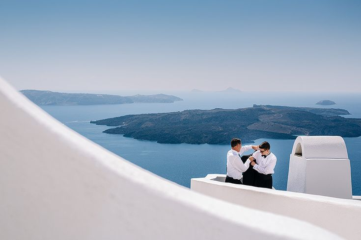 Wedding in Altavista Suites Santorini // Nicole + James