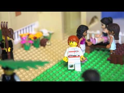 LEGO-pääsiäistarina Pietari kieltää Jeesuksen - YouTube