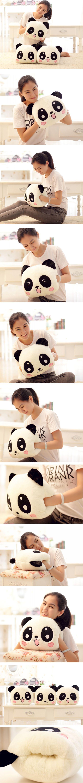 Aliexpress.com: Comprar Panda de la historieta calentador de la mano, bolsos calientes, no carga doble intervenir almohada, Shou Wu, regalos de cumpleaños, regalos de navidad de etiqueta engomada del regalo fiable proveedores en fengbeibei
