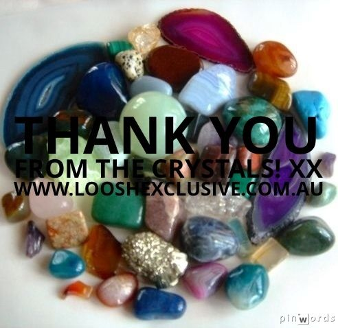 Thank you to the beautiful crystals for their contribution to yesterday's group reading & clearing session! AMAZING!! Xx