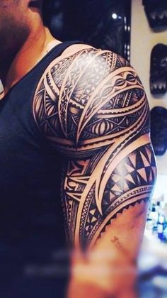 I don't know why, but I want a tribal tattoo so bad!