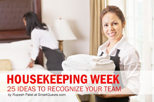 Housekeeping Week: 25 Ideas to Recognize Your Team ...