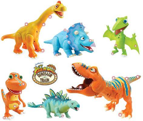 All Toy Dinosaurs | Dinosaur Train Toys from Tomy - Interaction Dinosaur Toys