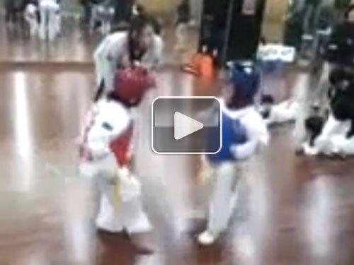 Most intense Taekwondo fight ever