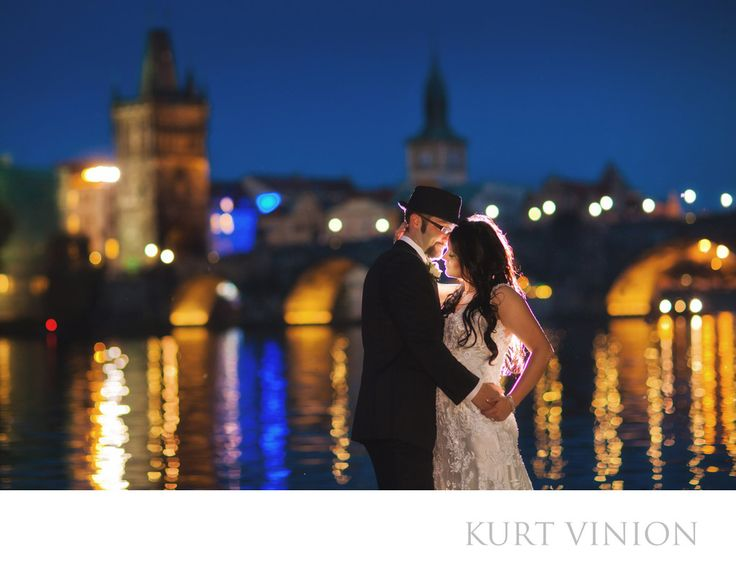 London wedding & Prague pre wedding photographer - award winning Prague Wedding Photographer: the incredible wedding day photography of W&N who married at Prague's Vrtba Garden and then celebrated their union with a day & evening portrait session with American photographer Kurt Vinion, based in Prague.