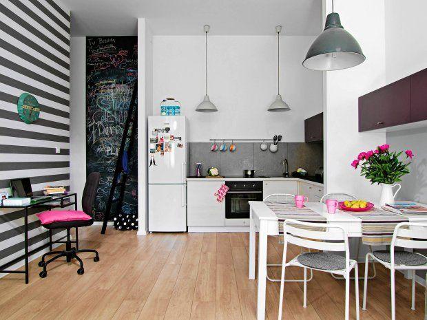 Inside small apartament.