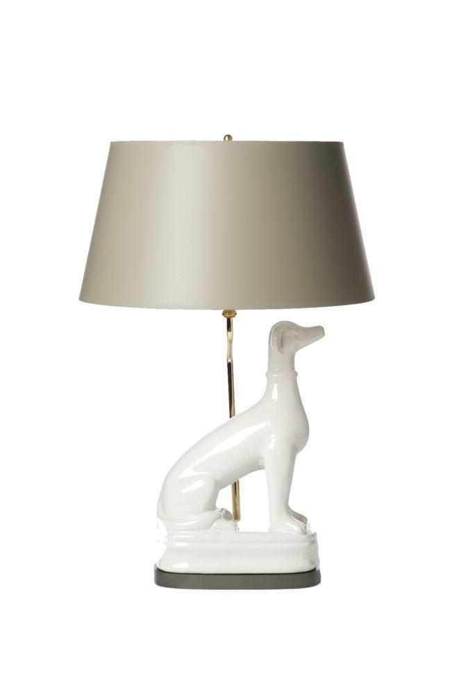 Yellow Ceramic Table Lamp