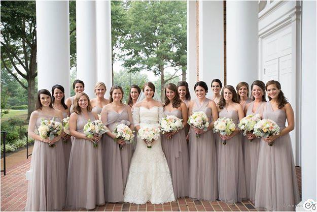 Jenny Yoo Annabelle Bridesmaid Dress in Mink Gray-full-1