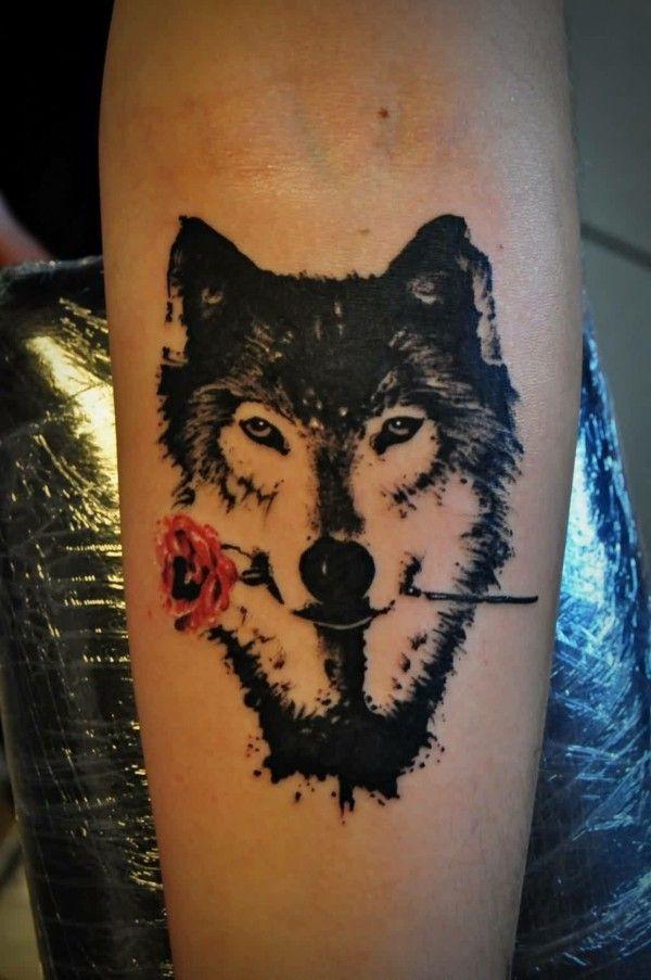 Wolf Tattoo Bedeutung Und Symbolik Mine Pinterest Tattoos