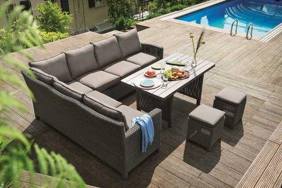 kettler buiten meubelen palma twee in n lounge en dinerset een tuin is om te relaxen. Black Bedroom Furniture Sets. Home Design Ideas