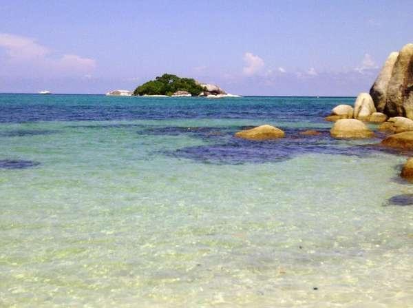 Tanjung Kelayang Beach, Bangka Belitung, Indonesia