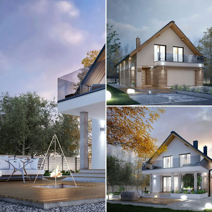 Projekt Amarylis 5 (152,60 m2). Pełna prezentacja projektu znajduje się na stronie: https://www.domywstylu.pl/projekt-domu-amarylis_5.php  #projekty #projekt #domywstylu #mtmstyl #dom #domy #projektygotowe #domzpoddaszem #architecture #architektura #amarylis5 #design #moderndesign #housedesign