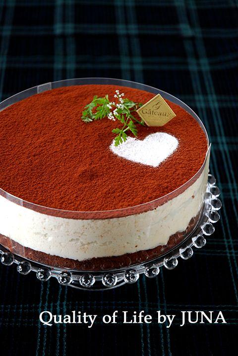 ティラミス風ムースケーキ 超うまいよっっ - Quality of Life by JUNA