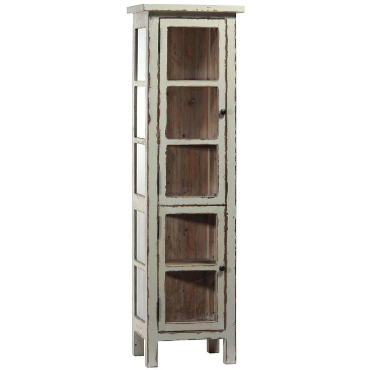 Dovetail Furniture Greta Vitrine Light Grey At Goods Home Furnishings In Charlotte  North Carolina Furniture Stores And Hickory NC Furniture Outlets