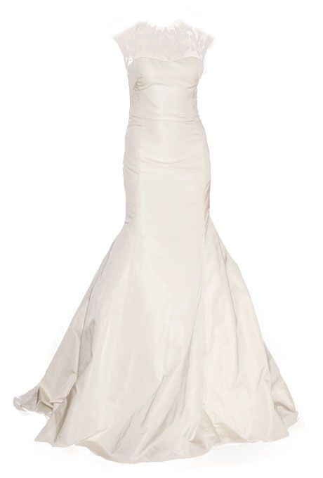 "Brides.com: Wedding Dresses for Petite Figures. ""Tompkins Square"" wedding dress, Lela Rose"