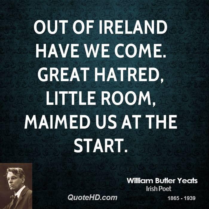 W.B. Yeats quote