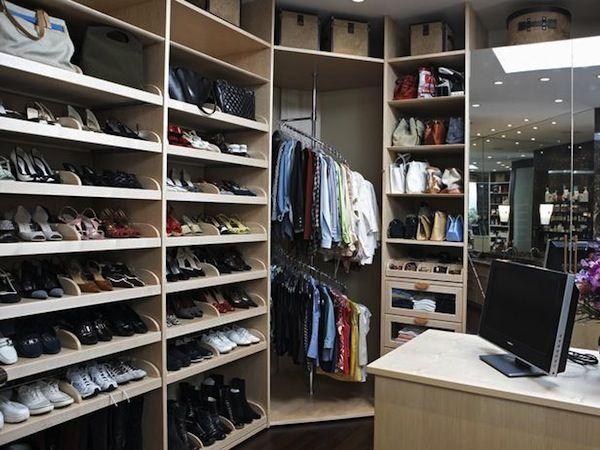 Mens walk-in #closet
