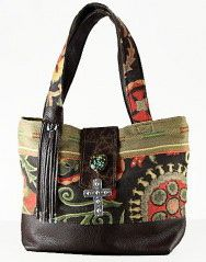 Eternal Perpective Sierra Tote from Tom Taylor Belts & Buckles Santa Fe