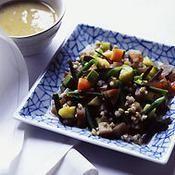 Minestrone au kombu et miso blanc - une recette Asiatique - Cuisine