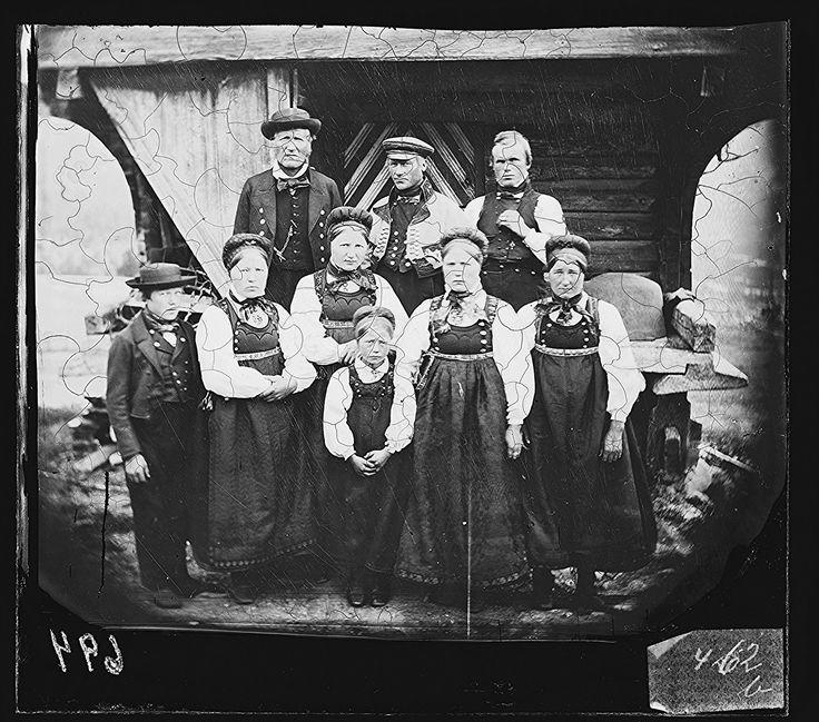 Tinn, Telemark ca.1860-70