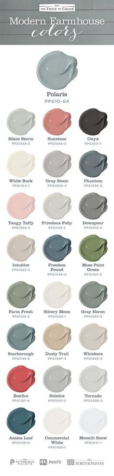 Pittsburg Paint-Farmhouse Paint Color. Farmhouse color scheme and paint colors for every room.... by www.cool-homedeco...