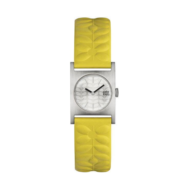 Orla Kiely   UK   Accessories   Watches   Nemo Watch (0PHNEMO080)   Yellow