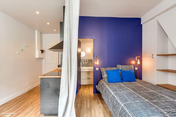 Rénovation et décoration d'un 30 m2 à Paris 4e, blackStones - Côté Maison