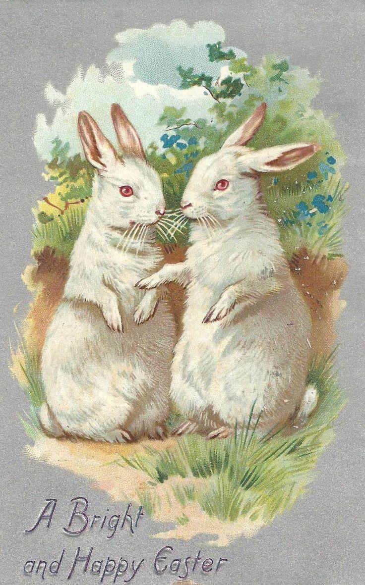 2540 Best Vintage Easter Images Images On Pinterest Decoupage