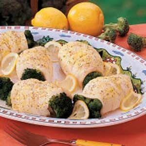 Broccoli Fish Bundles