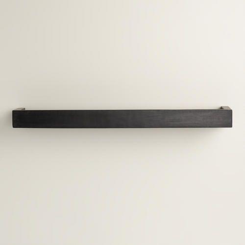 One of my favorite discoveries at WorldMarket.com: Small Black Caden Wall Shelf
