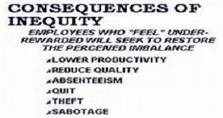 The Equity Theory is the principle of fairness and balance... it states that workers' motivation is directly correlated to their perception of-- equity, fairness...as practiced in their workplace...