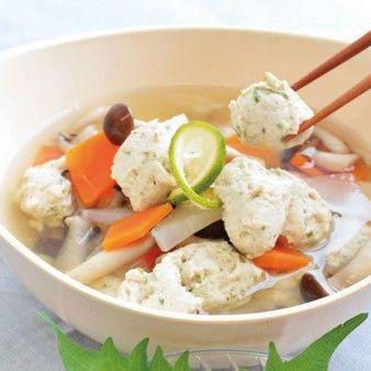 鶏つみれ汁 バイタミックス レシピ