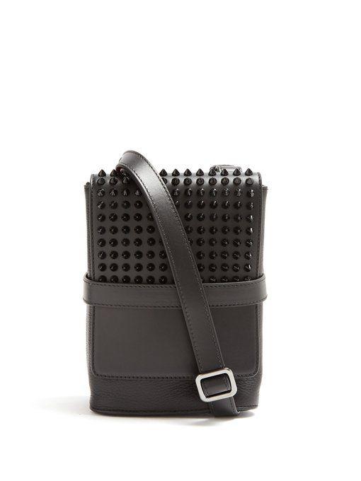a00adef2805 Christian Louboutin Benech small spike-embellished cross-body bag ...