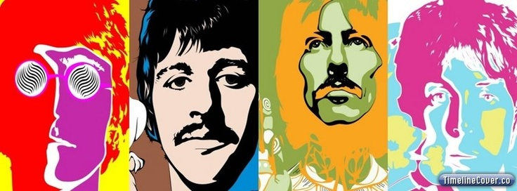 Get the new Beatles Facebook Cover for your Facebook profile