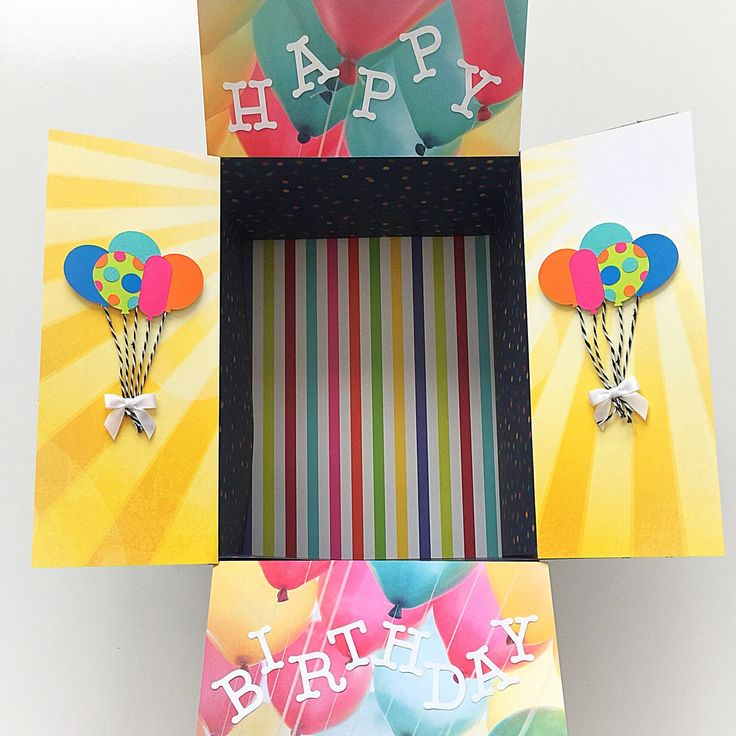 Happy Birthday Care Package Kit, Care Package Flaps, Birthday Party, 9 pc Set by WCKinnovations on Etsy