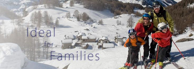Sainte Foy is ideal for family ski holidays