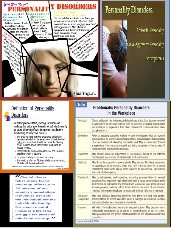 How to deal with personality disorders in the workplace