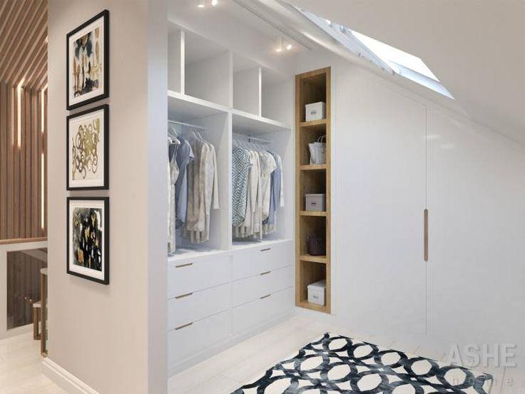 Projekty, translation missing: pl.style.garderoba.eklektyczny Garderoba zaprojektowane przez Студия авторского дизайна ASHE Home
