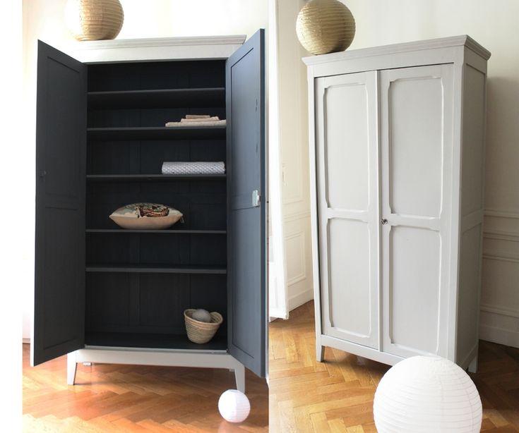 les 25 meilleures id es de la cat gorie armoire peinte sur pinterest cole maternelle. Black Bedroom Furniture Sets. Home Design Ideas